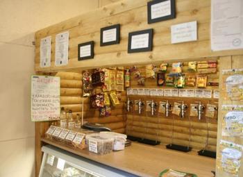 Магазин разливного пива в новом густонаселенном районе