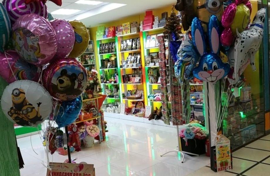 Сеть магазинов подарков и шаров.