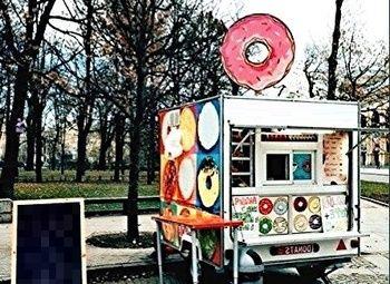 Прибыльный мобильный бизнес - кофе и пончики