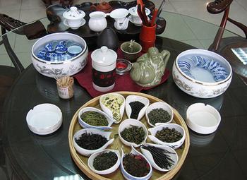 Привлекательный магазин фермерского чая
