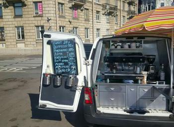 Мобильная кофейня с высокой прибылью