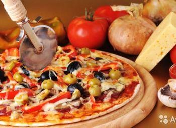 Действующая пиццерия на фудкорте в ТРК