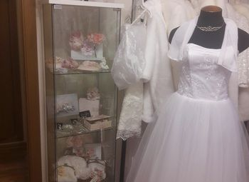 Свадебный салон с системой дистанционного обслуживания