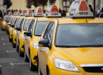 Служба такси с автопарком 40 автомобилей