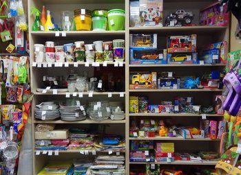 Магазин хоз товаров в развивающемся жилом комплексе