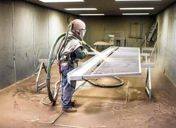 Бизнес по пескоструйной обработке металла и цех порошковой окраски