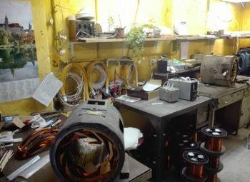 Бизнес по ремонту электродвигателей различного назначения