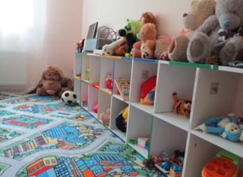 Детский садик в многоквартирном жилом комплексе с возм. расширения