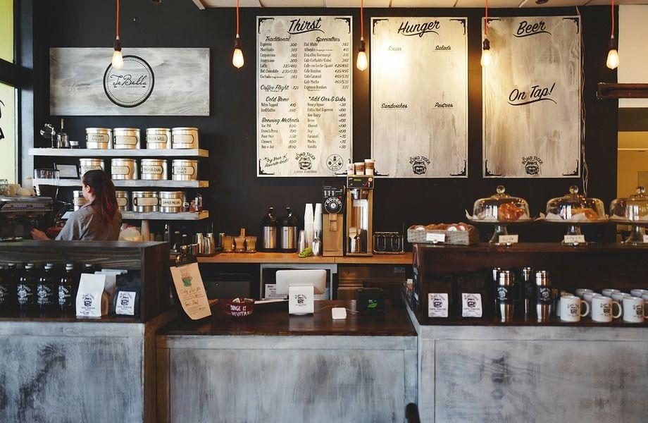 Кофейня на севере города