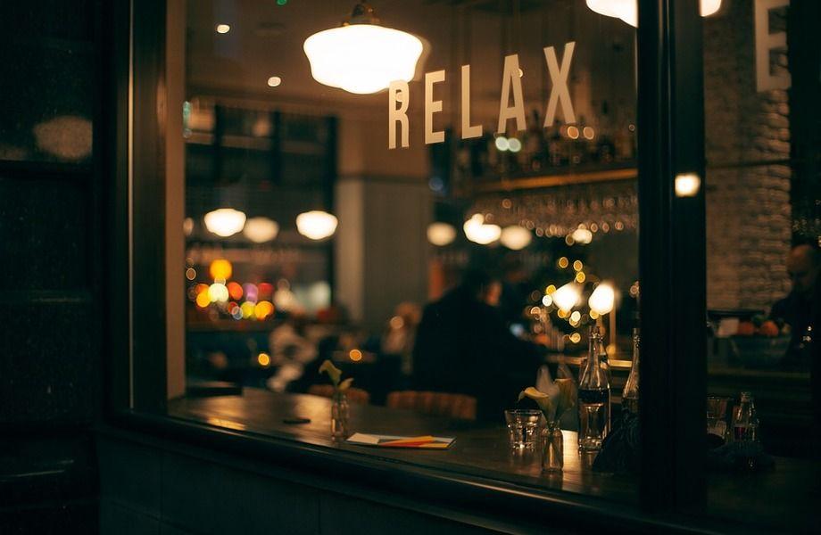 Концептуальный бар в центре города