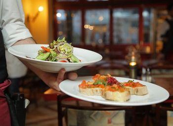 Популярный ресторан в самом центре Пушкина