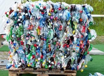 Перспективный сбор пластиковой тары для  переработке