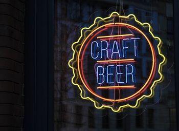 Магазин разливного пива в новом жилом районе