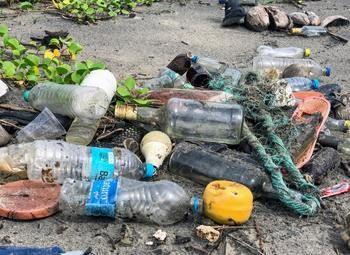 Предприятие по переработке пластика полного цикла.
