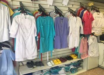 Два магазина медицинской одежды с товарным остатком