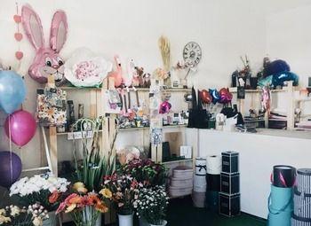Цветочный магазин в крупной жилой застройке