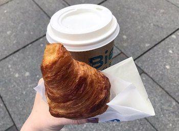 Пекарня и кофе ссобой