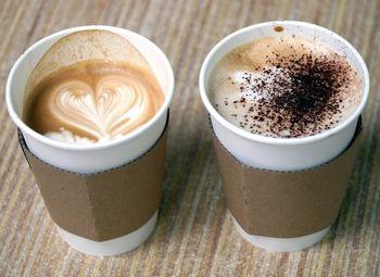 Кофе с собой в крупном БЦ