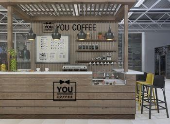 Кофейня в ТРК по низкой ставке