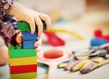 Детский садик в большом жилом массиве