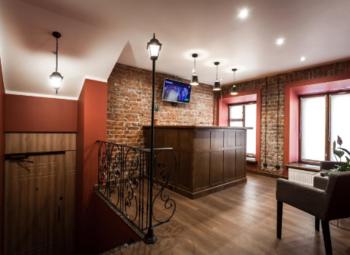 Мини-отель на 4 номера с общей кухней