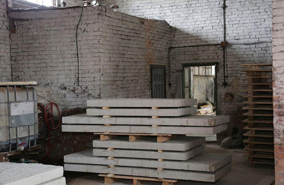 Производственная площадка ЖБИ