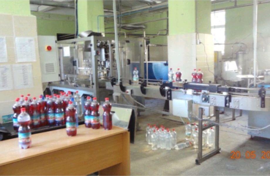 Завод по производству безалкогольных напитков
