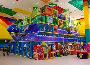 Сеть детских развлекательных площадок