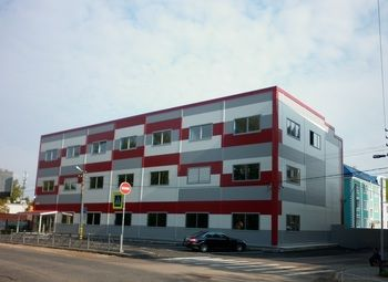 Новый 3-х этажный бизнес-центр