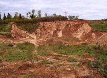 Месторождение песка в Московской Области 60 км до МКАД